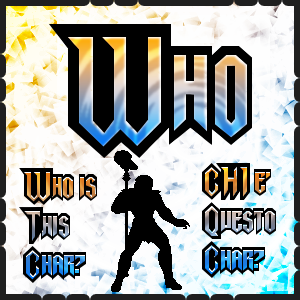 Who is this char? Chi � questo personaggio?