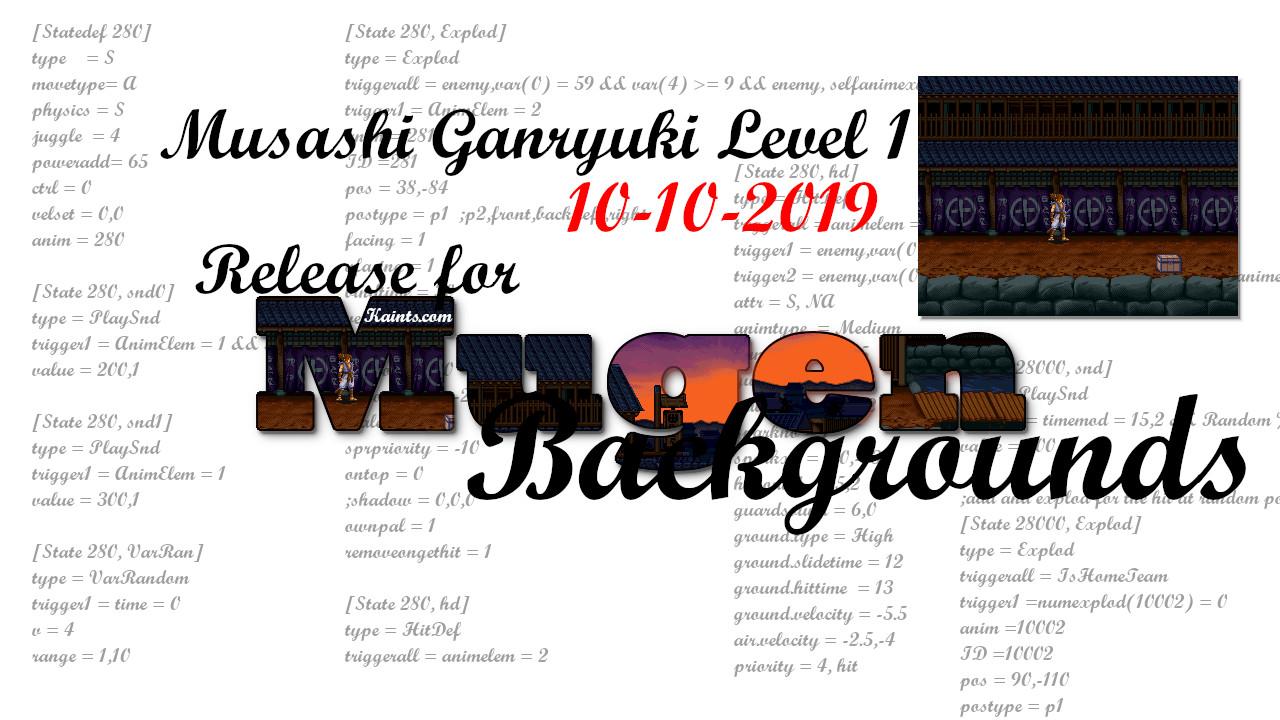 Musashi Ganryuki - Level1