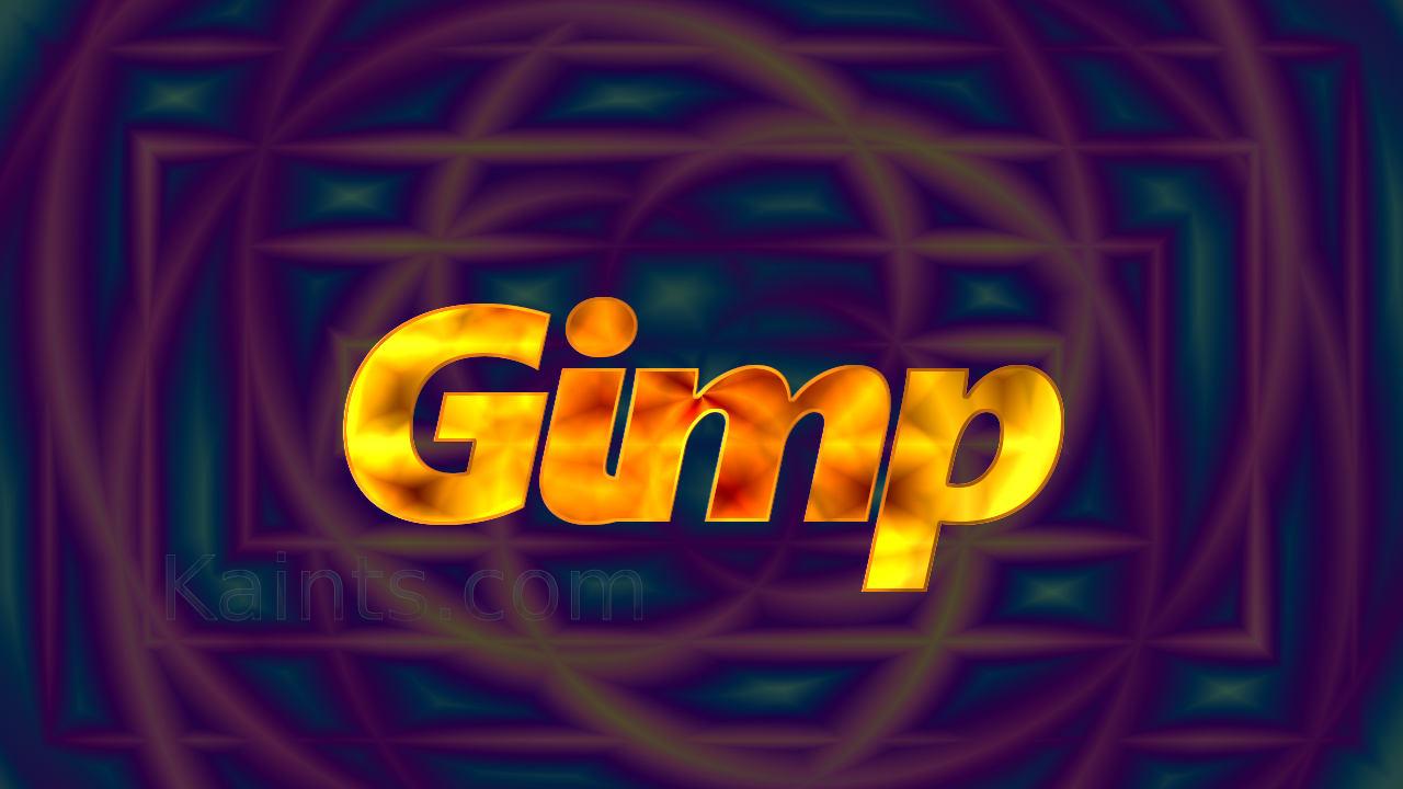 La pagina dedicata a Gimp!
