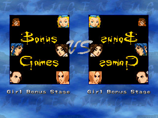 Bonus Stage: Girls
