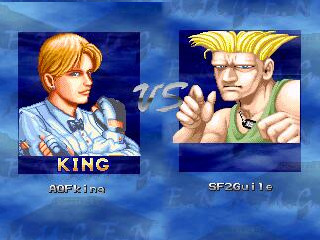 AOF King e SF2 Guile