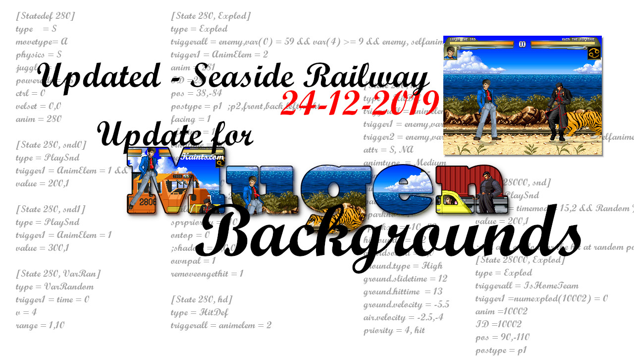 Aggiornamento Update: Seaside Railway