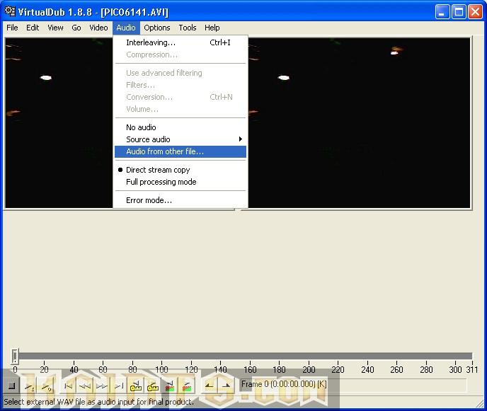 Cover Tutorial Virtual Dub: Aggiungere l'audio ad un video