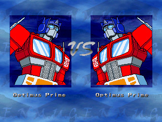 SD Optimus Prime portrait
