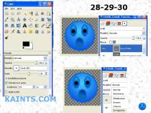 Gimp: Creare un smile - Create a smile